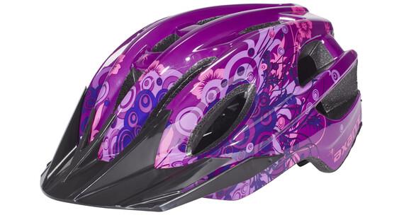 axant Rider Girl hjelm Børn pink/violet